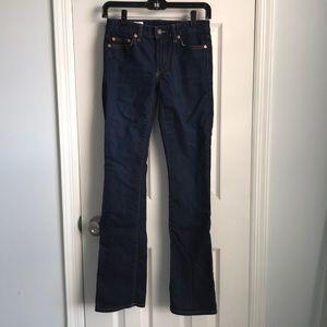 Gap Perfect Boot Jeans-Dark Wash
